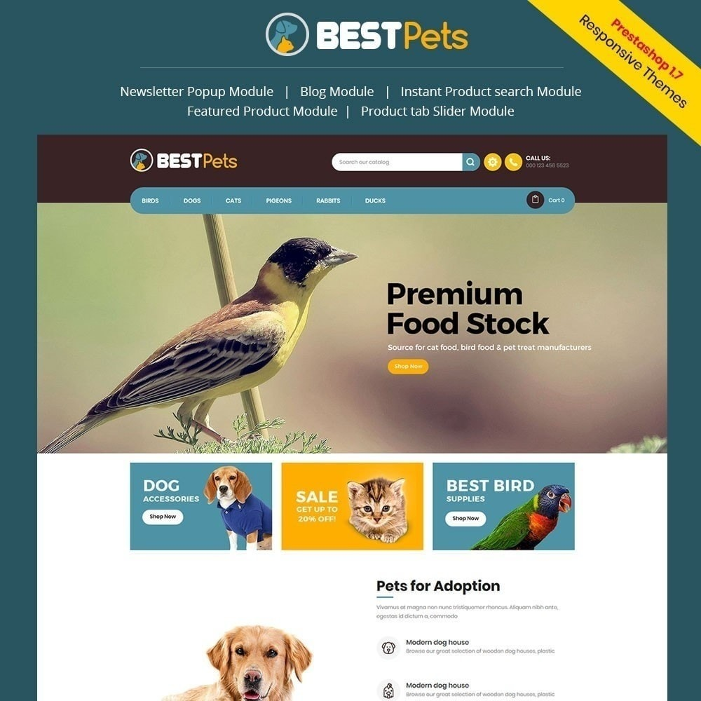 theme - Animali - Bestpet Pet Store - 2