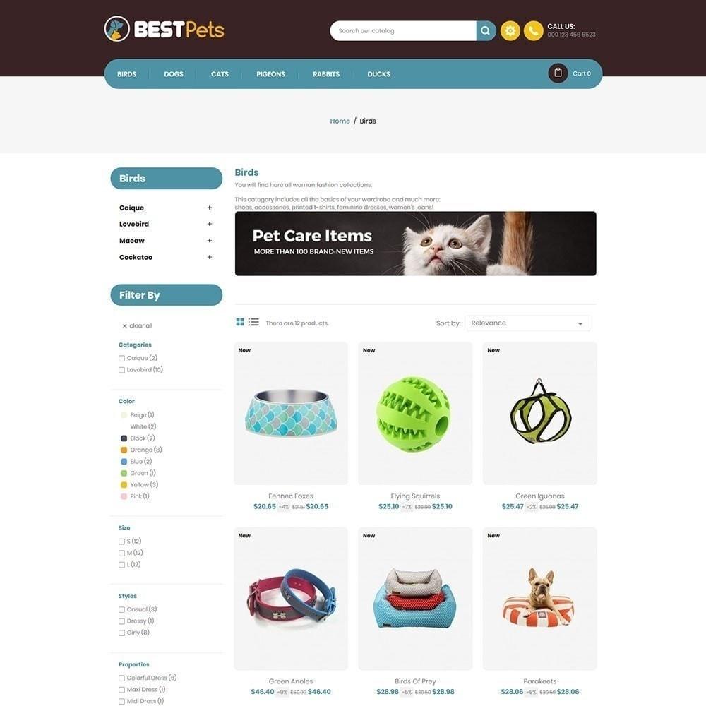 theme - Zwierzęta - Bestpet Pet Store - 5