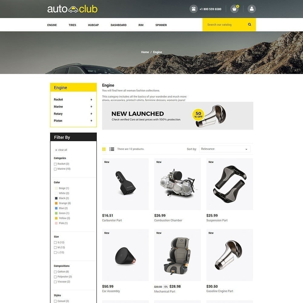 Auto Part -  Tool Store