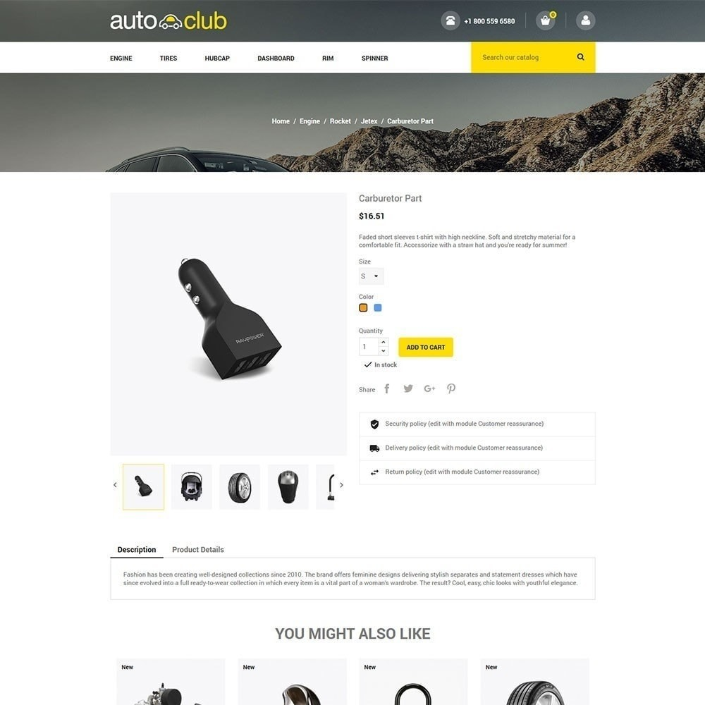 Auto-onderdeel - gereedschapswinkel