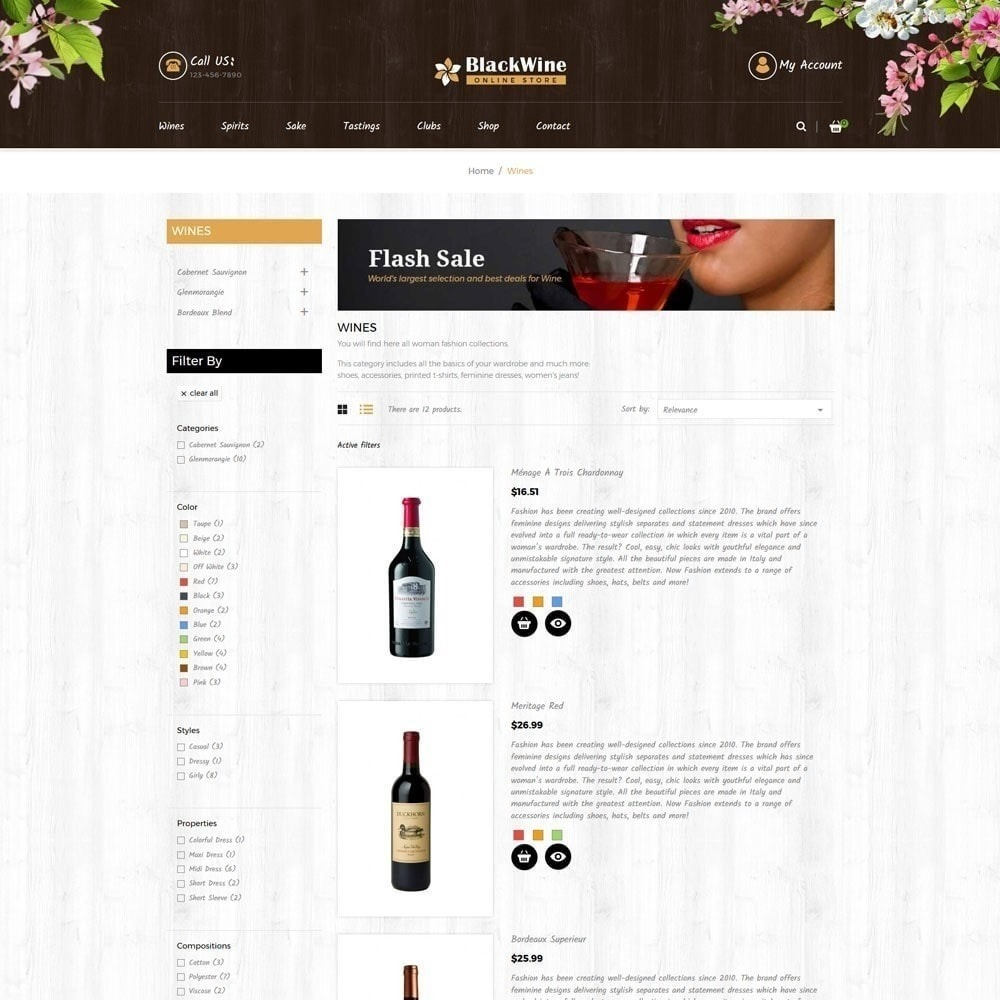 theme - Napoje & Wyroby tytoniowe - Sklepy z winami - 6