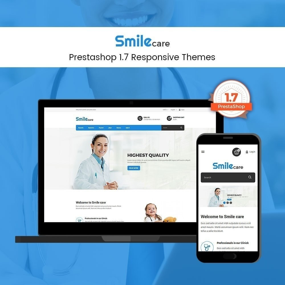 theme - Salud y Belleza - Smilecare - Health Beauty Drug Store - 4
