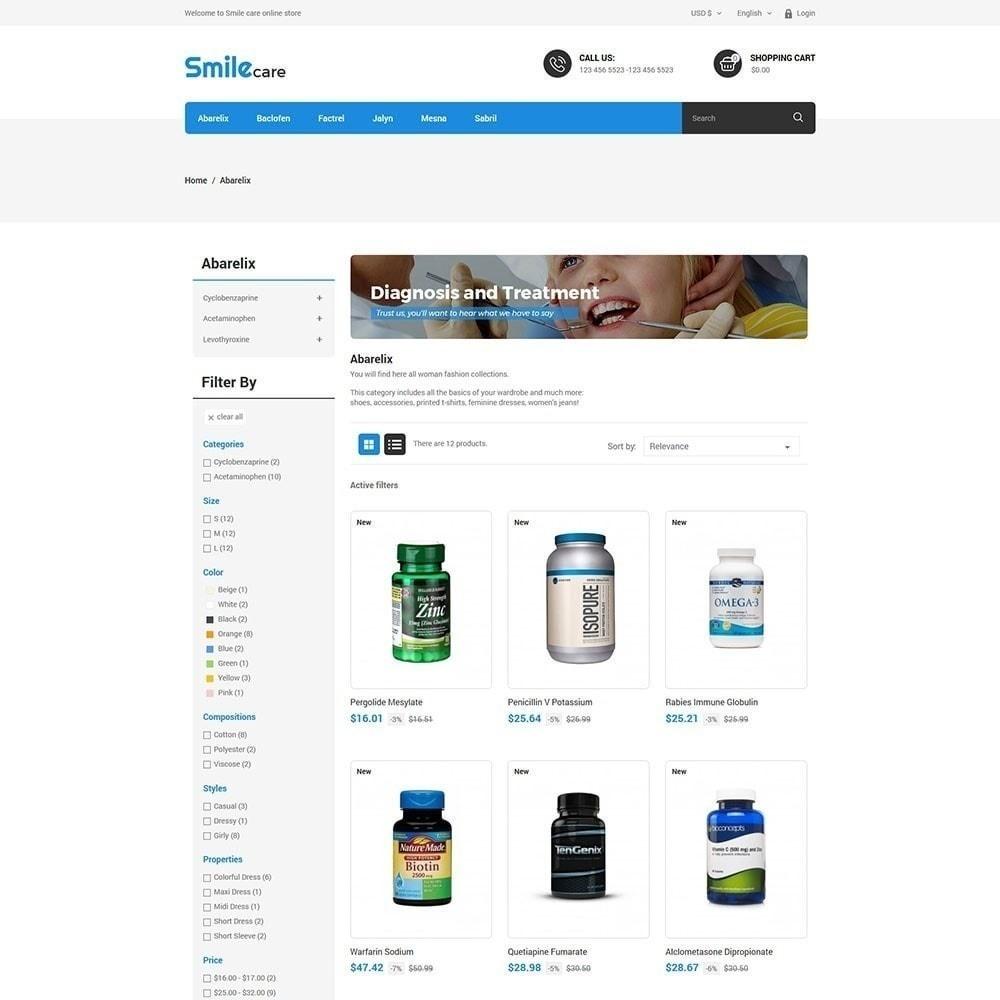 theme - Salute & Bellezza - Smilecare - farmacia di bellezza di salute - 4