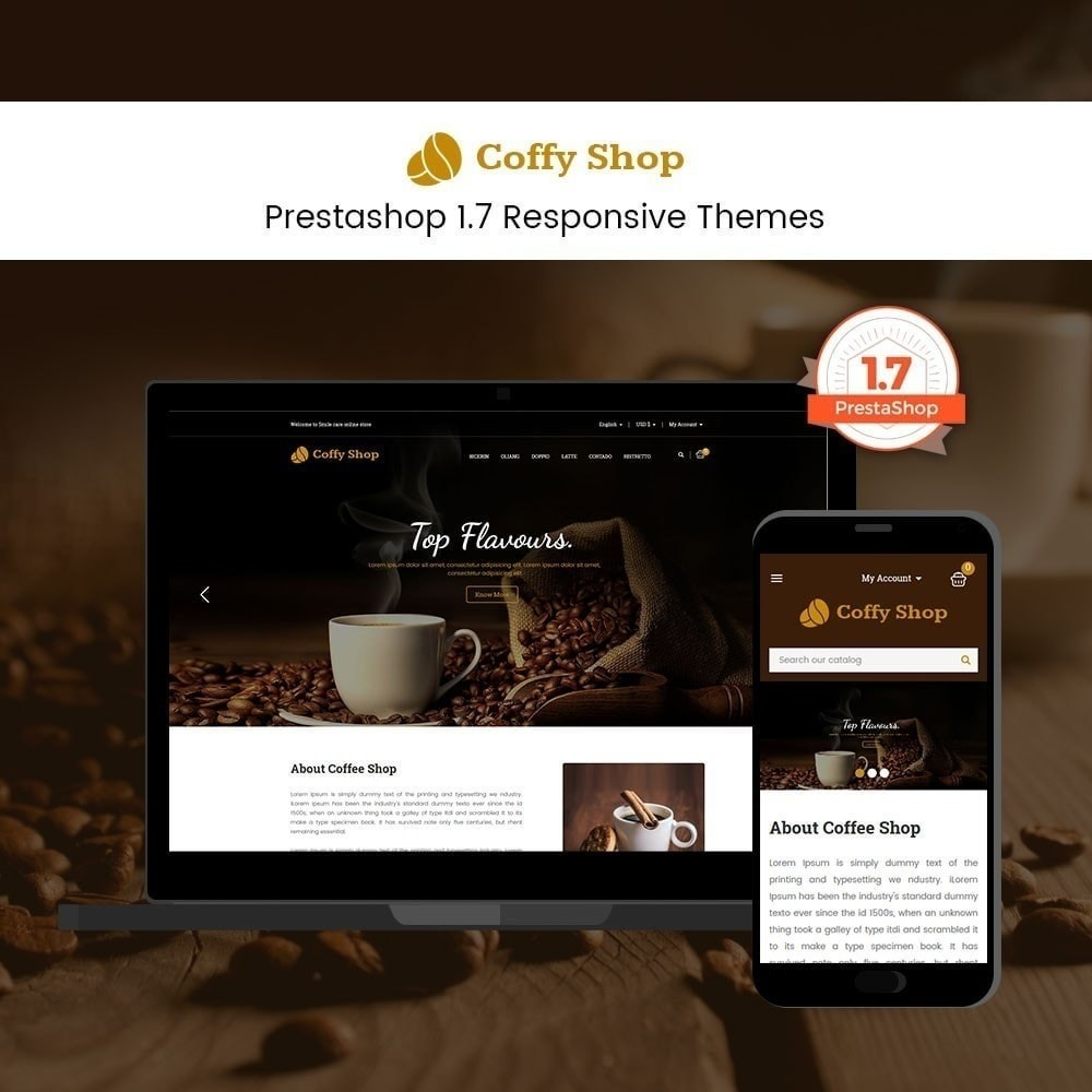 theme - Food & Restaurant - Coffee Store - 1