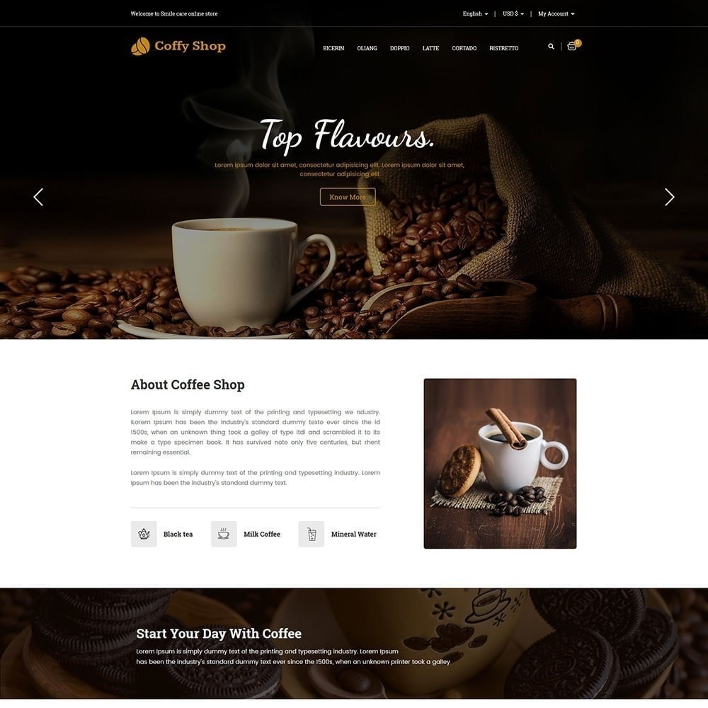 theme - Food & Restaurant - Coffee Store - 2