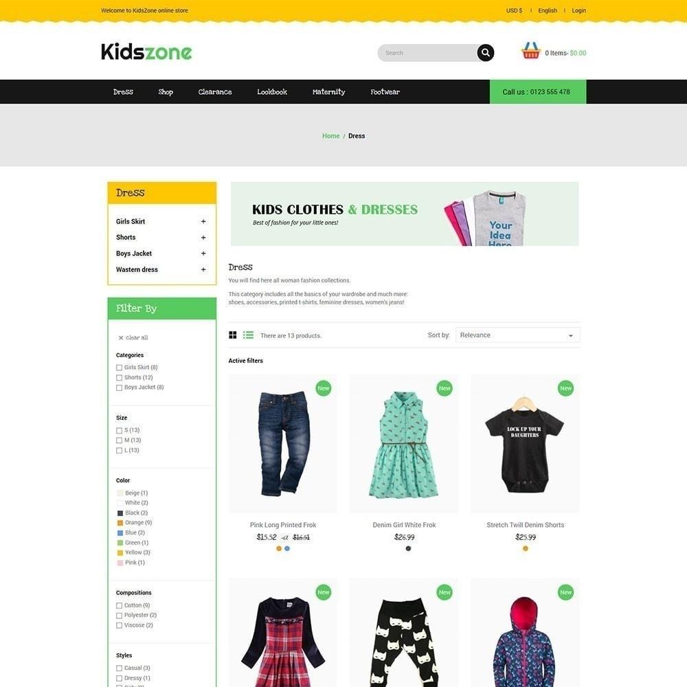 theme - Kids & Toys - Kidszone - Kids Store - 3