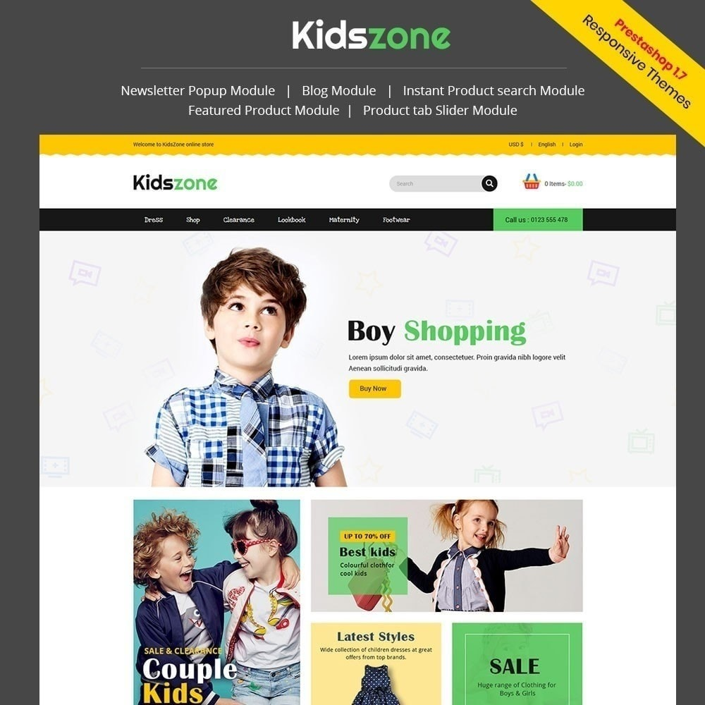 Kidszone - Loja Infantil