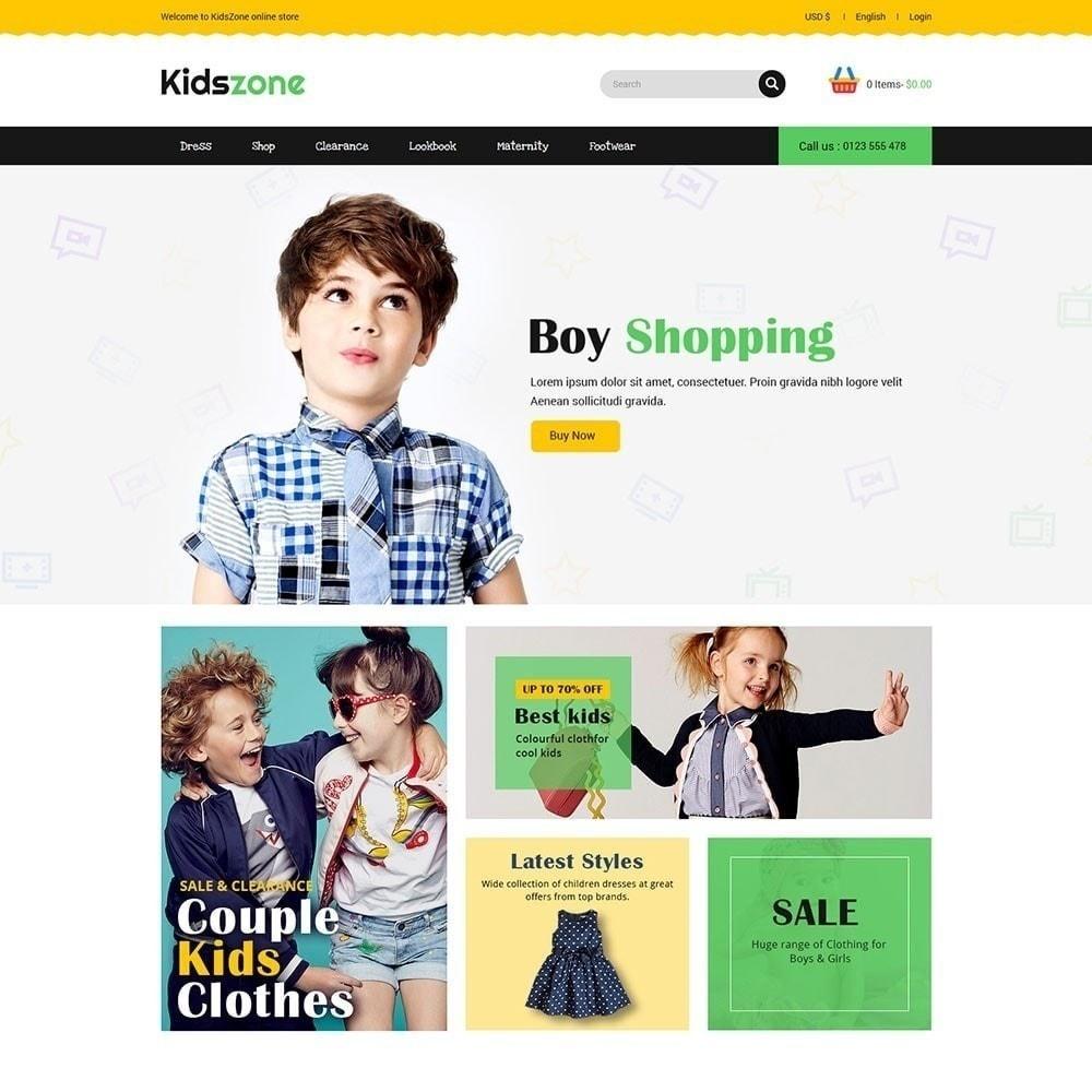theme - Crianças & Brinquedos - Kidszone - Loja Infantil - 3