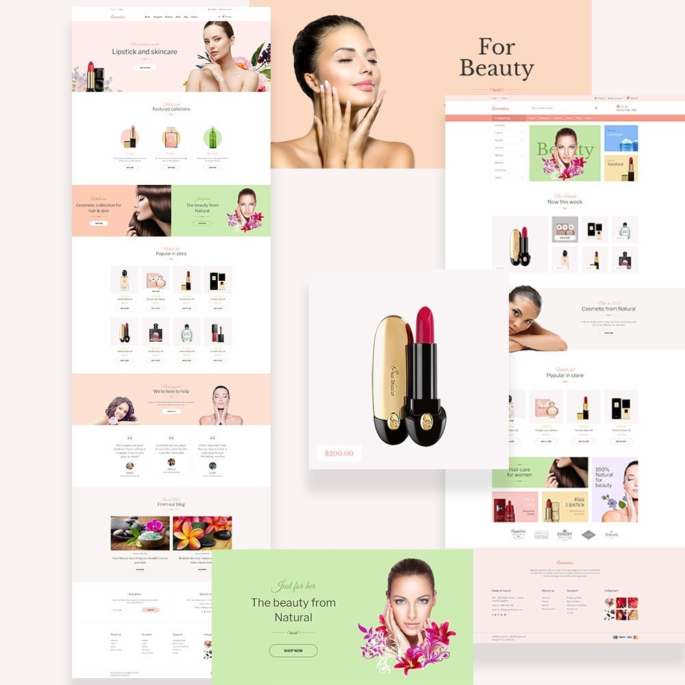 theme - Health & Beauty - Leo Cosmetic Store - 1
