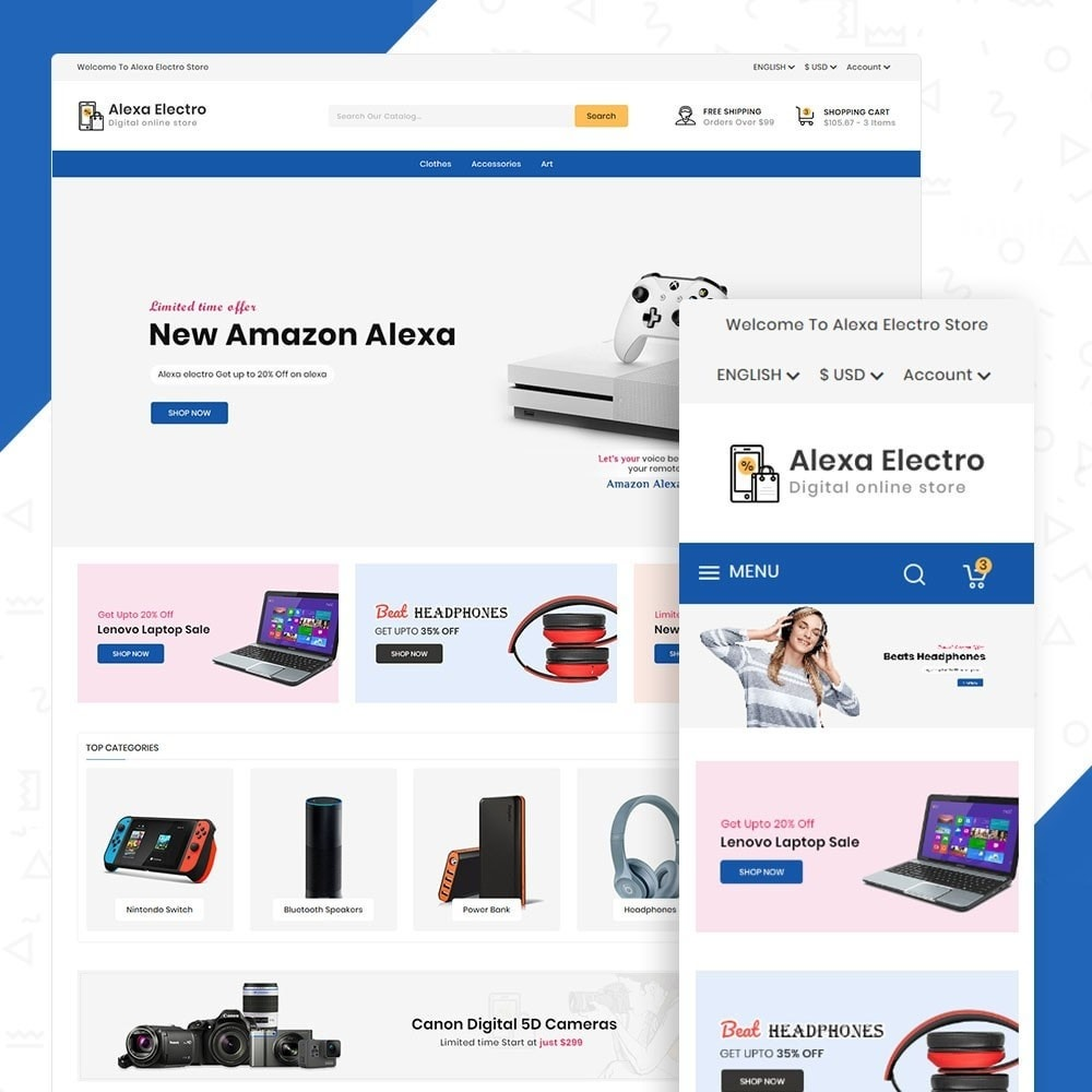Alexa Electro Store