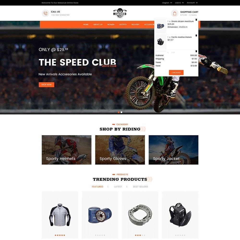 Motoclub Bike and Accessories Store