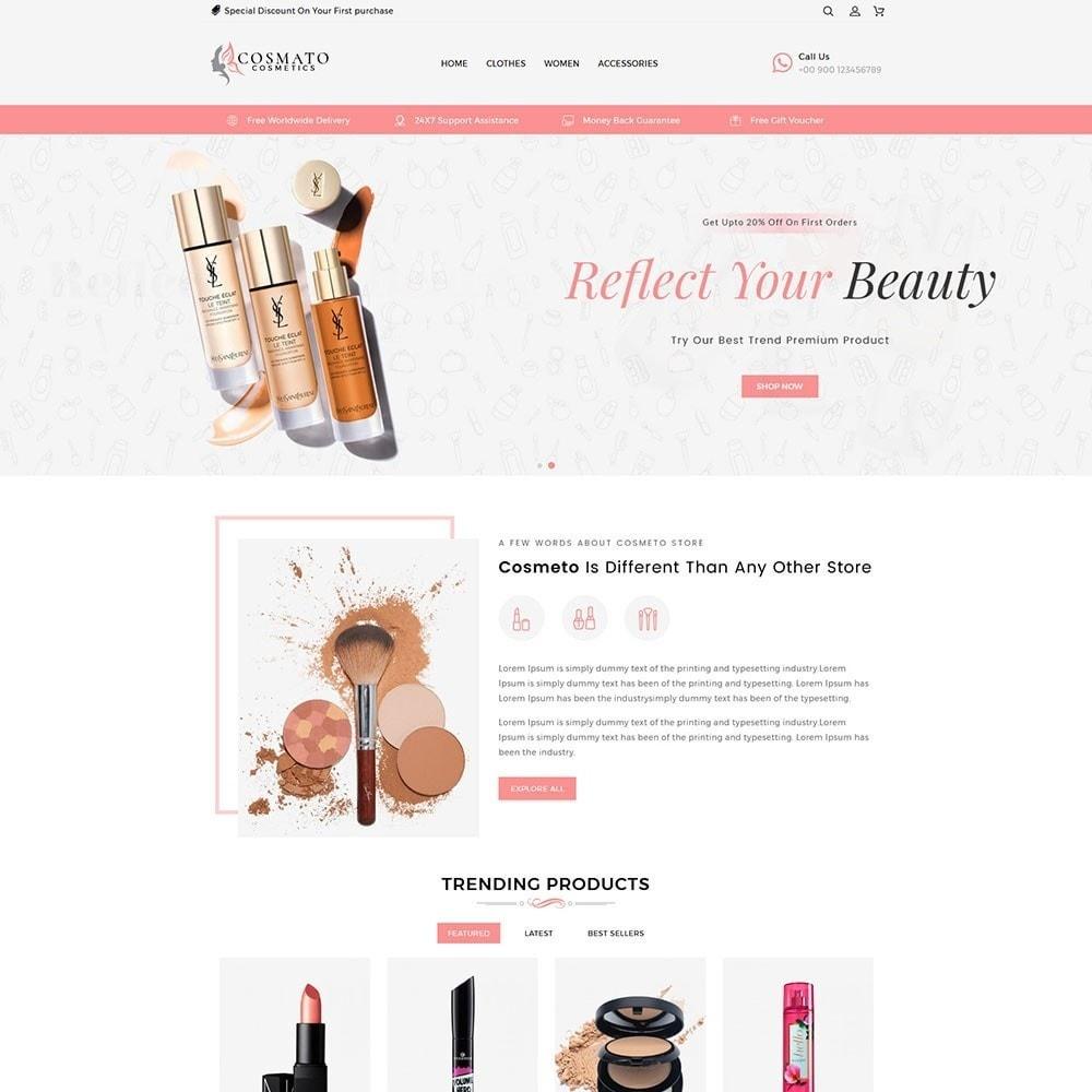 theme - Santé & Beauté - Cosmato Cosmetics Store - 2