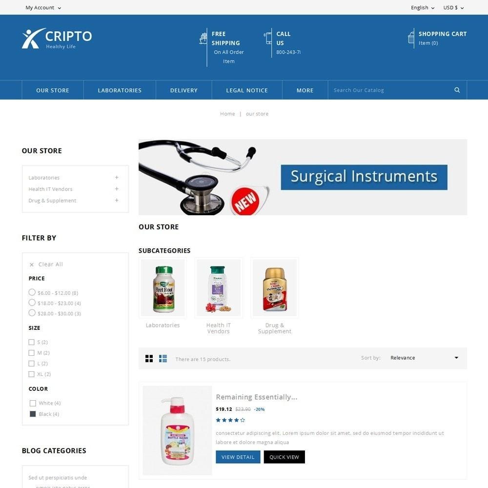 theme - Gesundheit & Schönheit - Cripto - Mega Medicine Store - 5