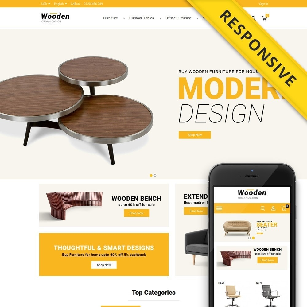 Wooden - Furniture Store