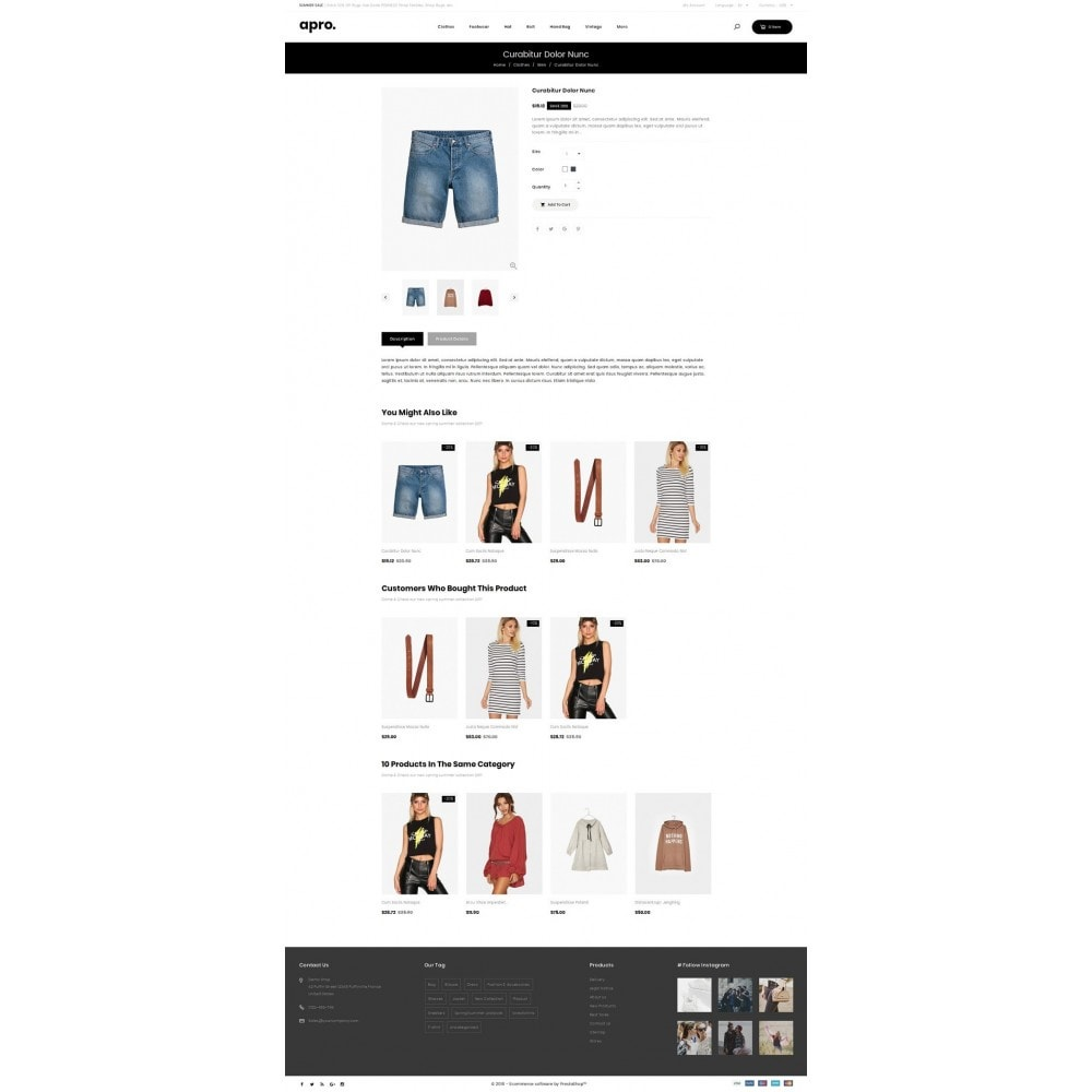 theme - Fashion & Shoes - Apro - Fashion Store - 4