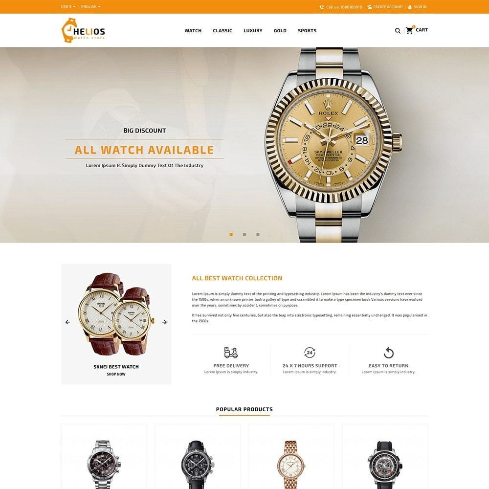 Helios Watch Shop