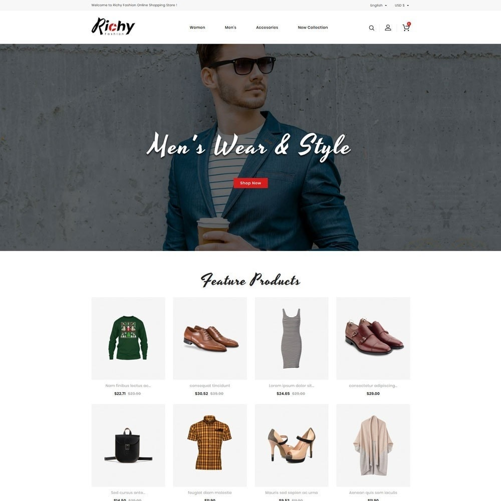 Richy Fashion Store
