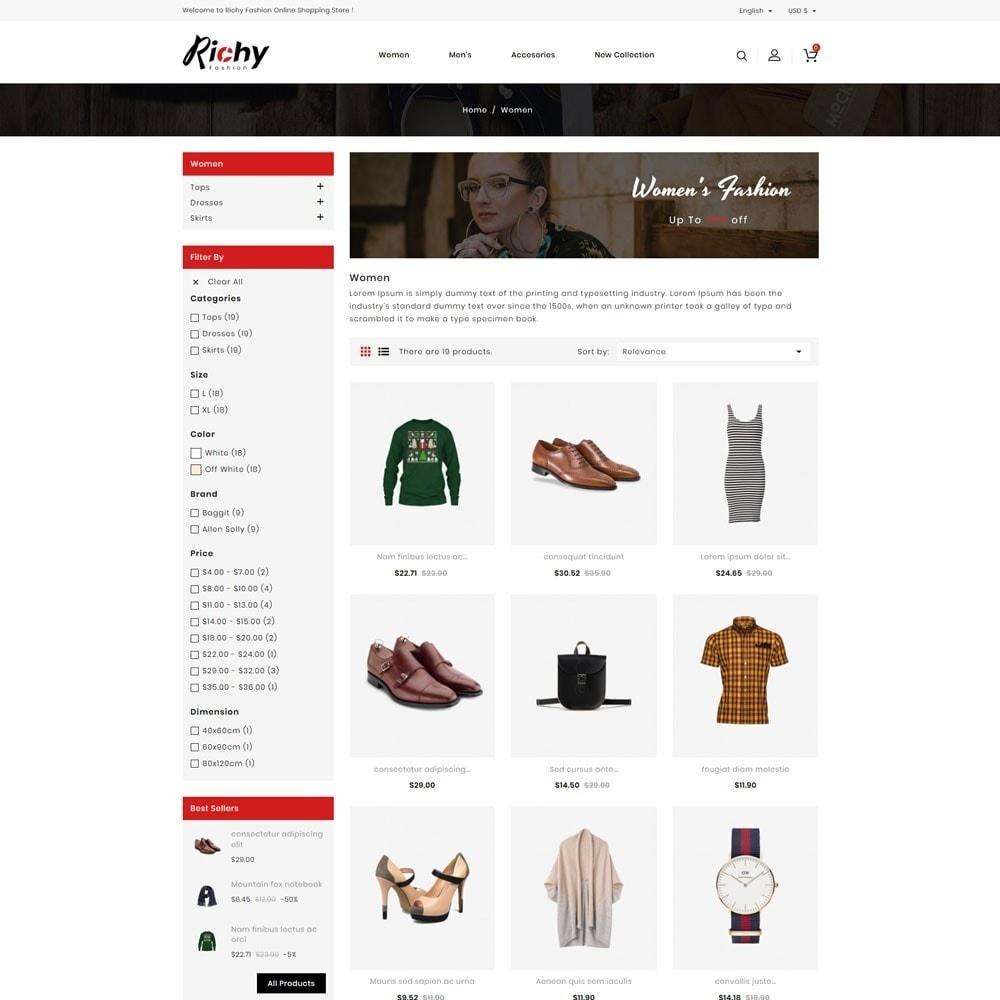theme - Fashion & Shoes - Richy Fashion Store - 3