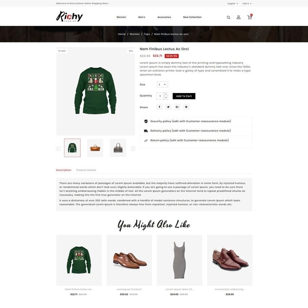 theme - Fashion & Shoes - Richy Fashion Store - 4