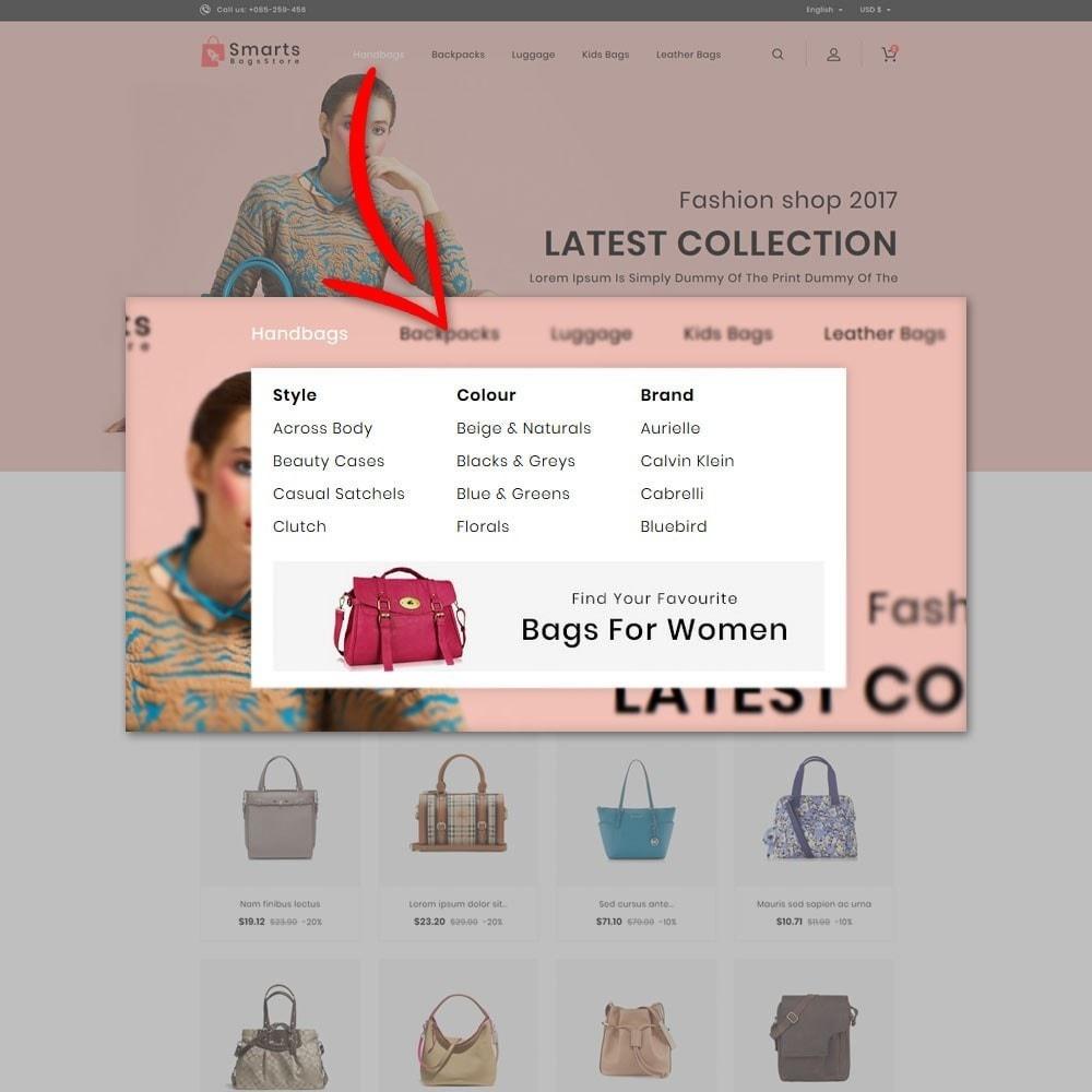 theme - Fashion & Shoes - Smart Bag Store - 6