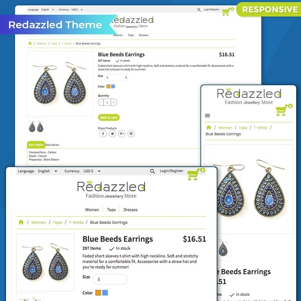 Redazzled Fashion Jewelry Store