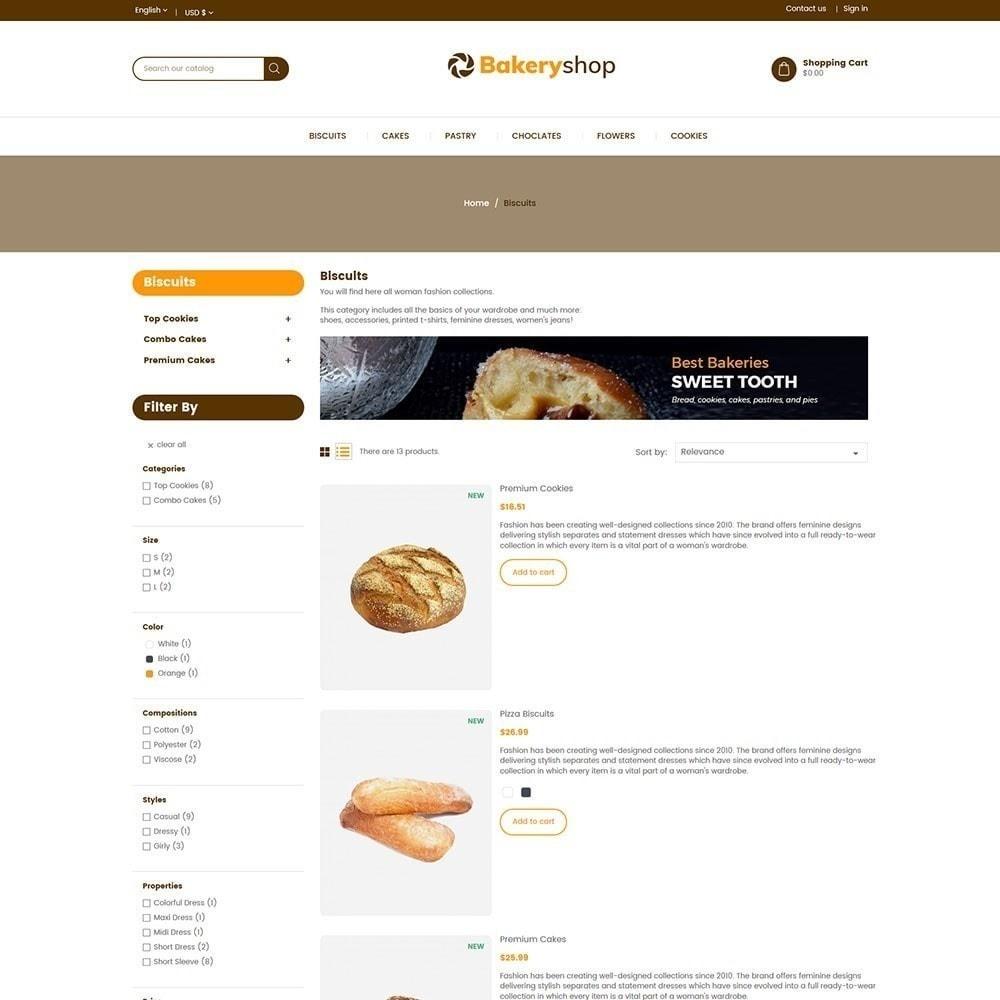 theme - Lebensmittel & Restaurants - Bäckerei-Lebensmittelgeschäft - 6