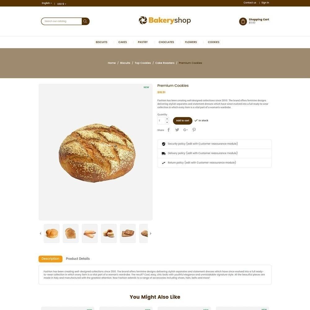 theme - Cibo & Ristorazione - Negozio di alimentari da forno - 6