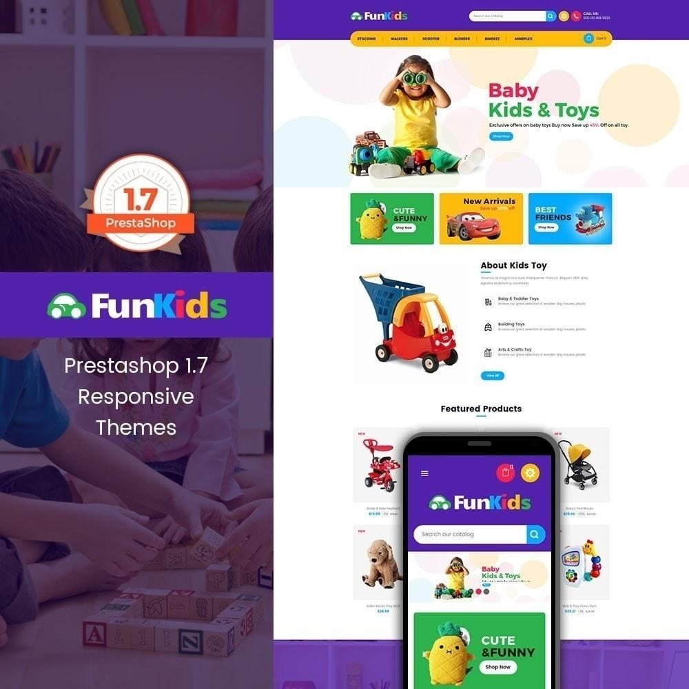 Fun Kids - Магазин игрушек