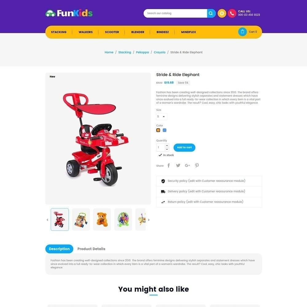 theme - Дети и Игрушки - Fun Kids - Магазин игрушек - 2