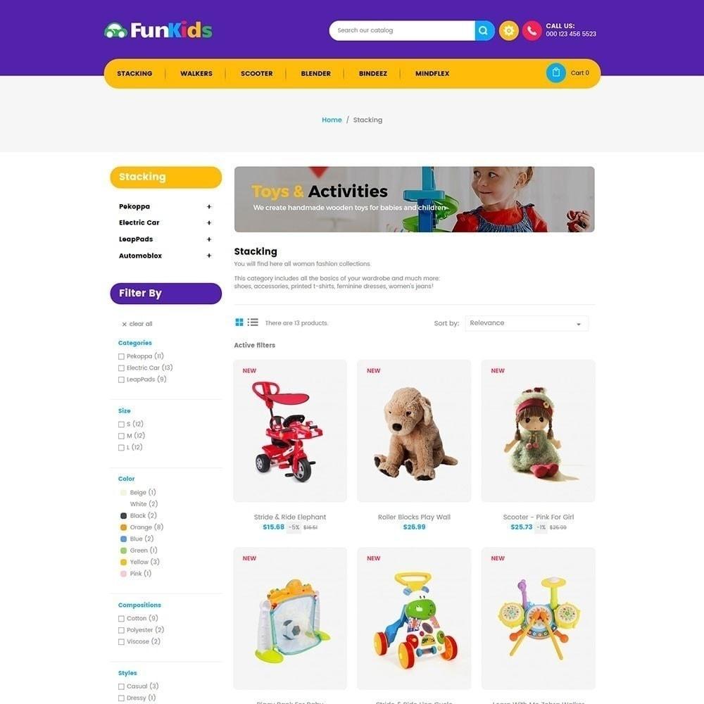 theme - Дети и Игрушки - Fun Kids - Магазин игрушек - 3