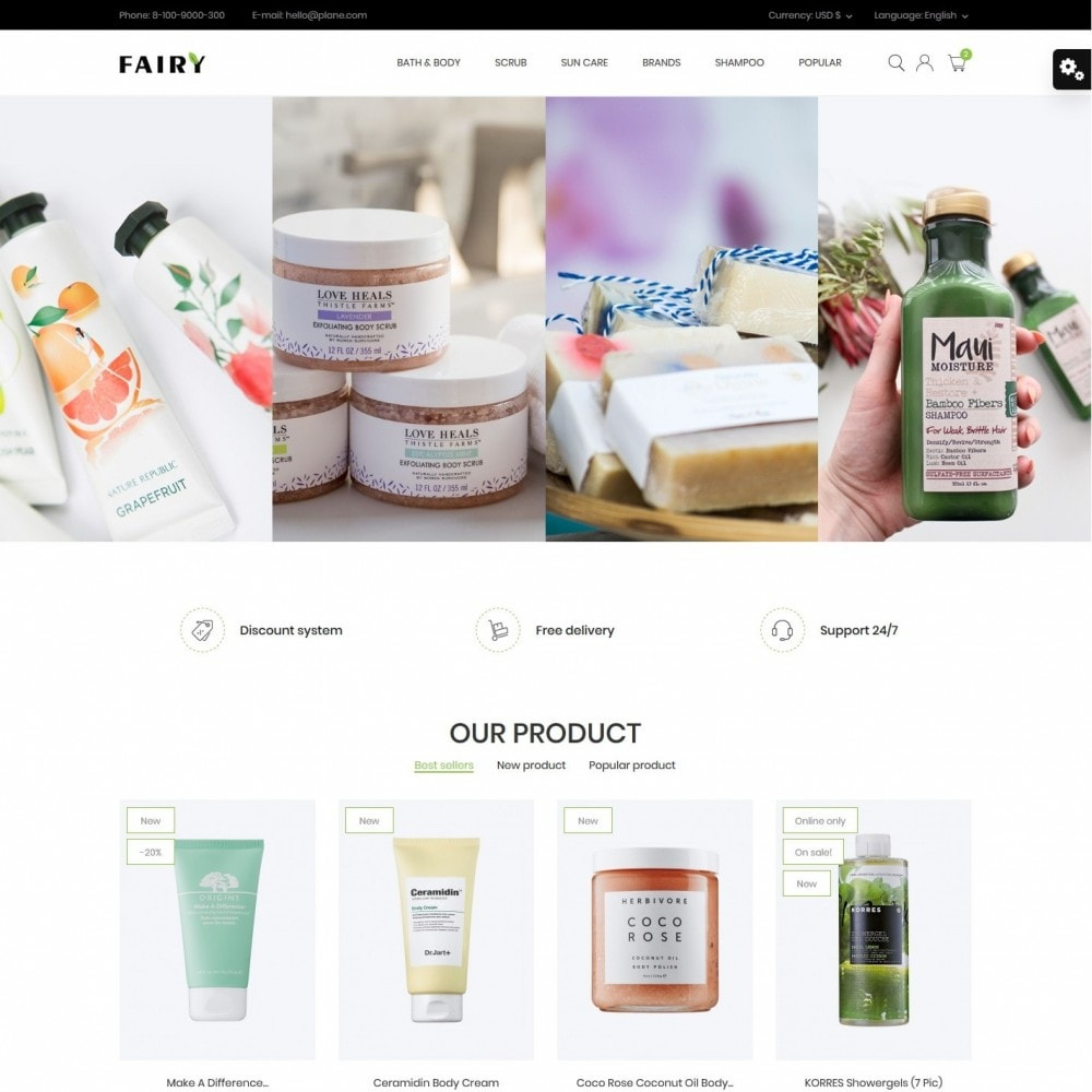theme - Health & Beauty - Fairy Cosmetics - 2