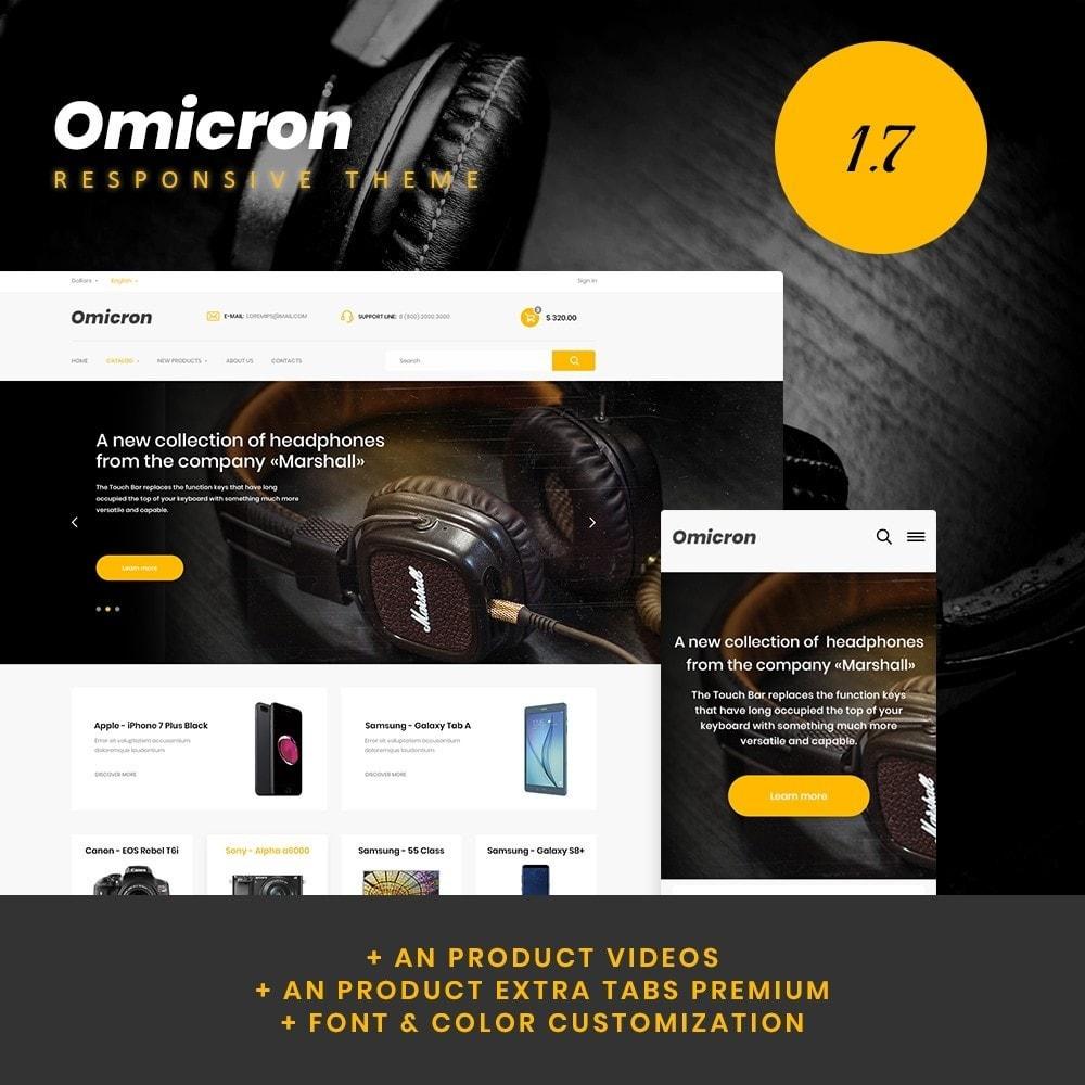 theme - Electronics & Computers - Omicron - High-tech Shop - 1
