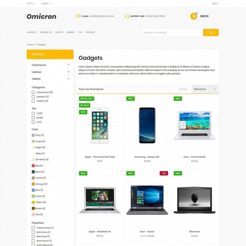 theme - Electronics & Computers - Omicron - High-tech Shop - 5
