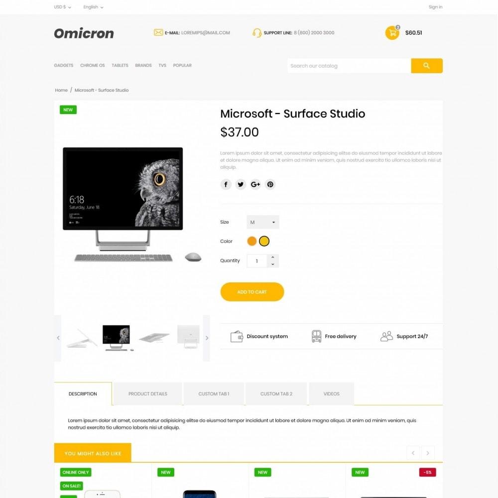 theme - Electronics & Computers - Omicron - High-tech Shop - 6