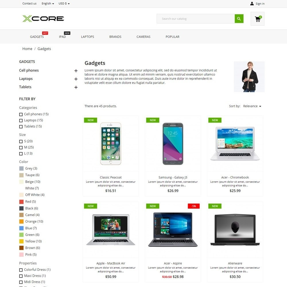 theme - Electronics & Computers - xCore - High-tech Shop - 5