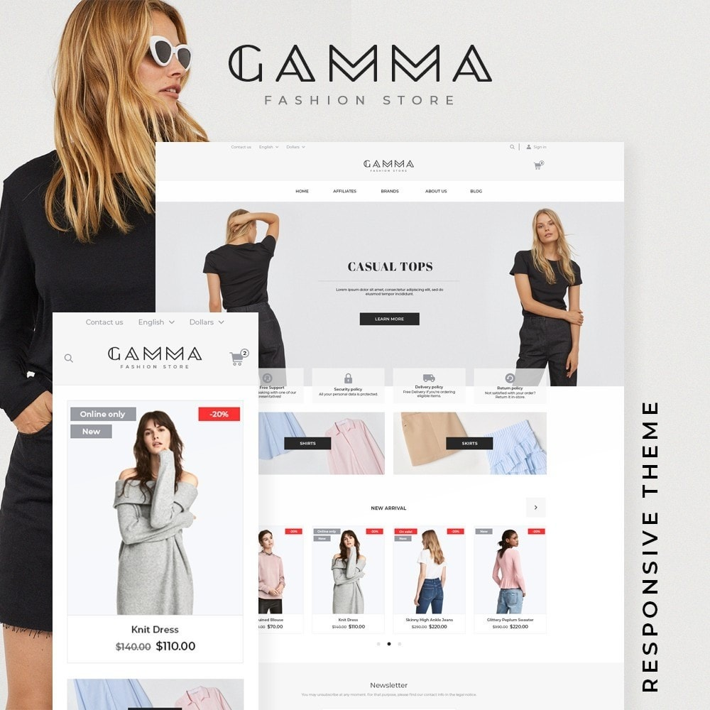 Gamma Fashion Store