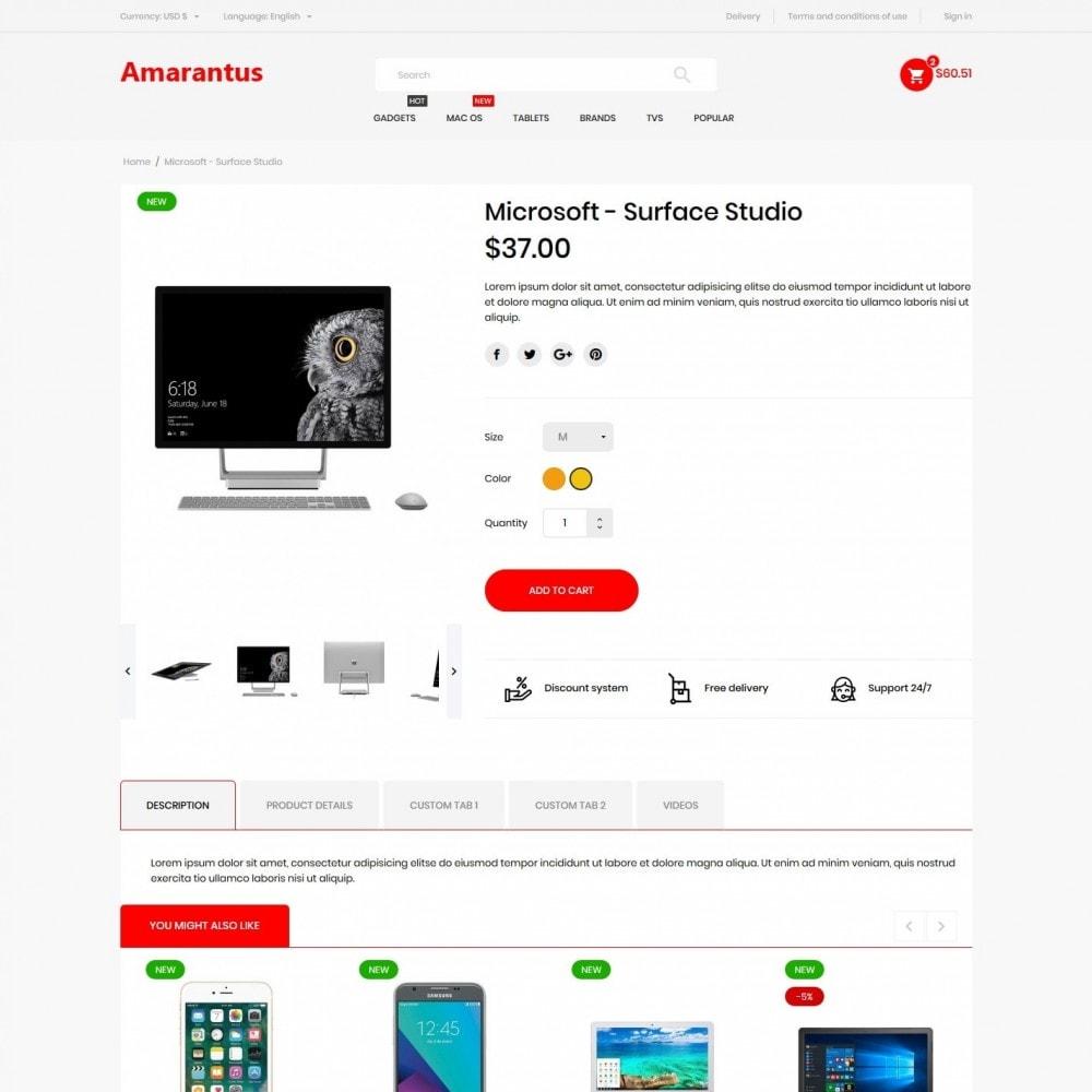 theme - Electronics & Computers - Amarantus - High-tech Shop - 6