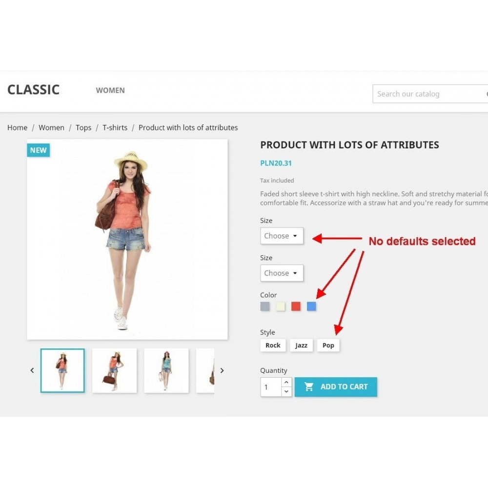 module - Combinations & Product Customization - Force select product attribute - 1