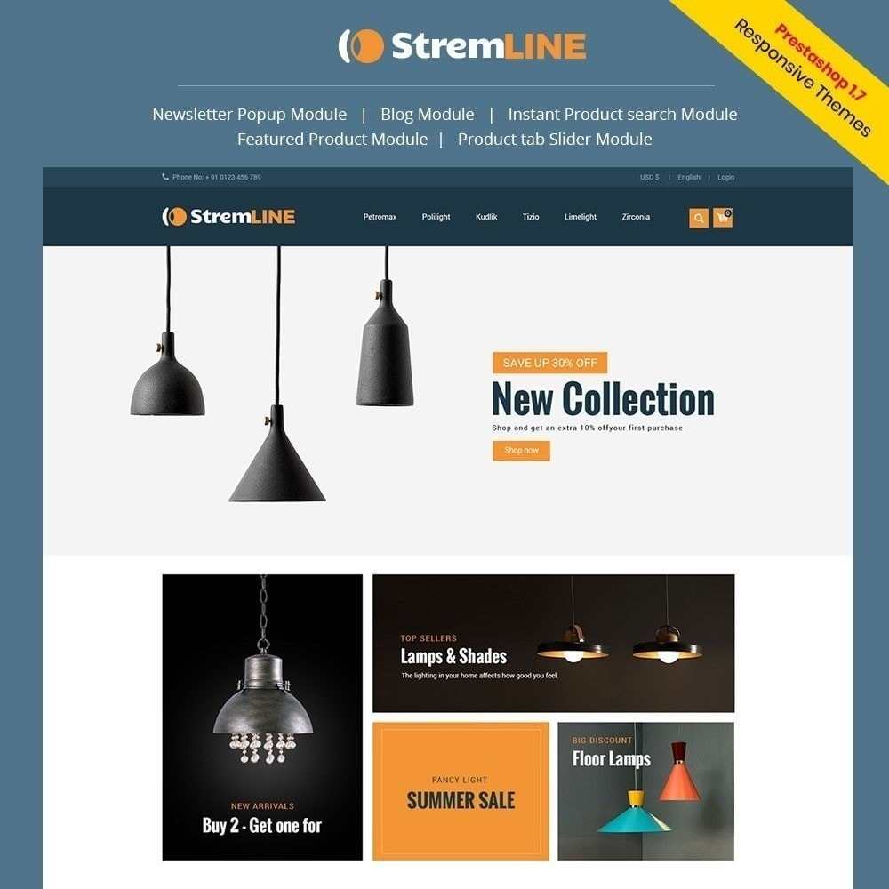 Strem Line Light Store
