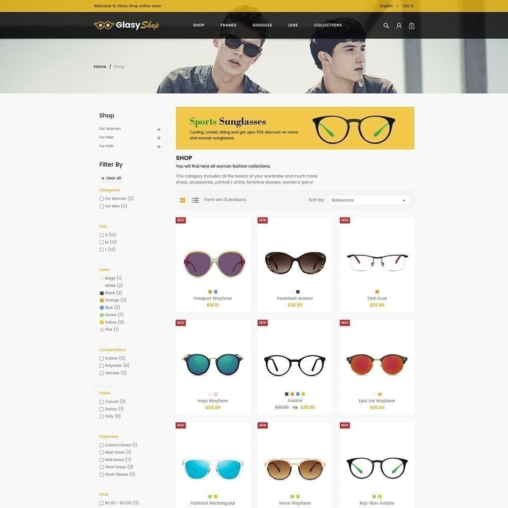 theme - Fashion & Shoes - Sun glass Fashion Store - 4