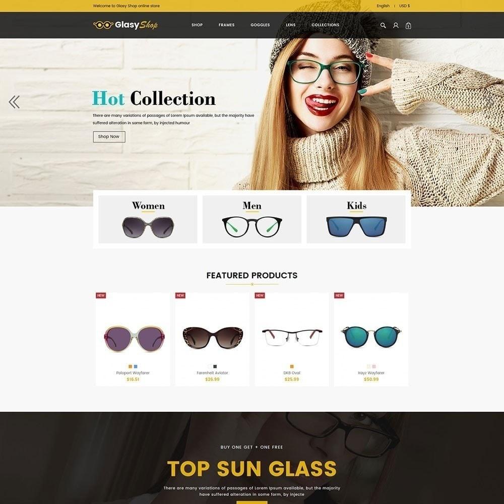 theme - Moda & Calçados - Loja de moda de vidro solar - 2
