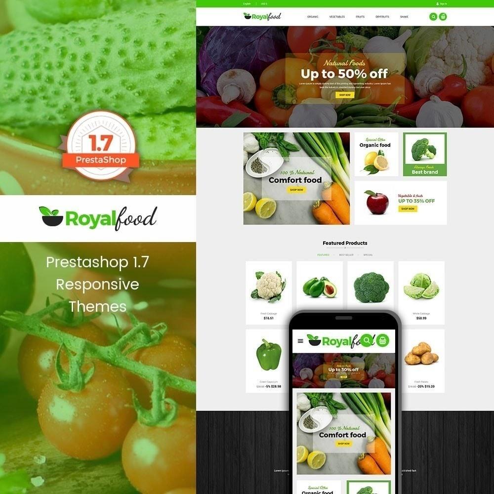 theme - Gastronomía y Restauración - Tienda de comida real - 1
