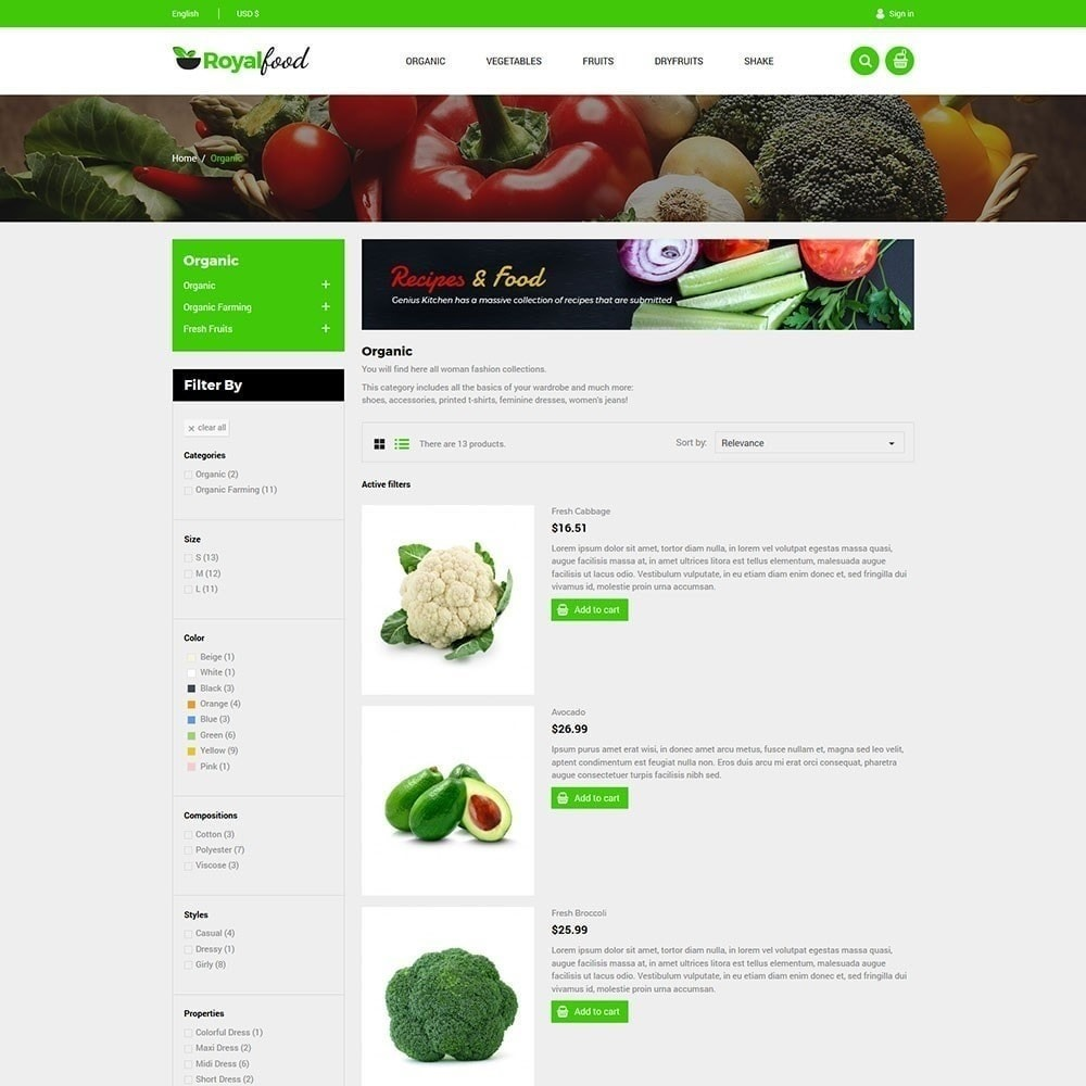 theme - Lebensmittel & Restaurants - Royal Food Store - 6