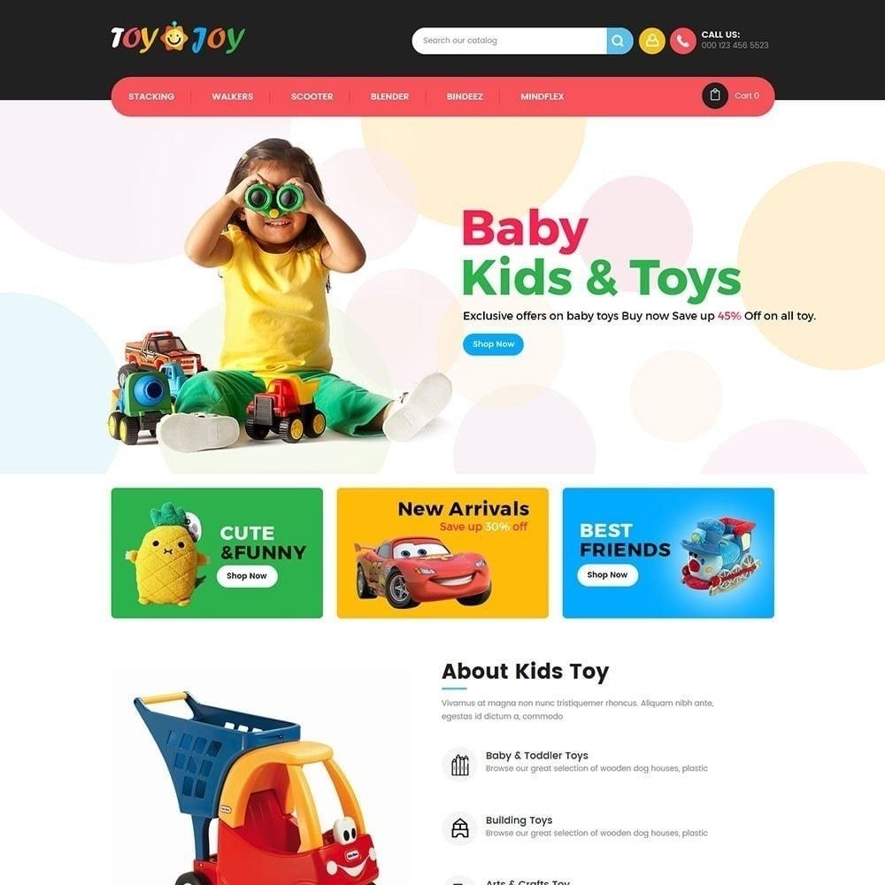 theme - Niños y Juguetes - Tienda de juguetes para niños Joy - 2