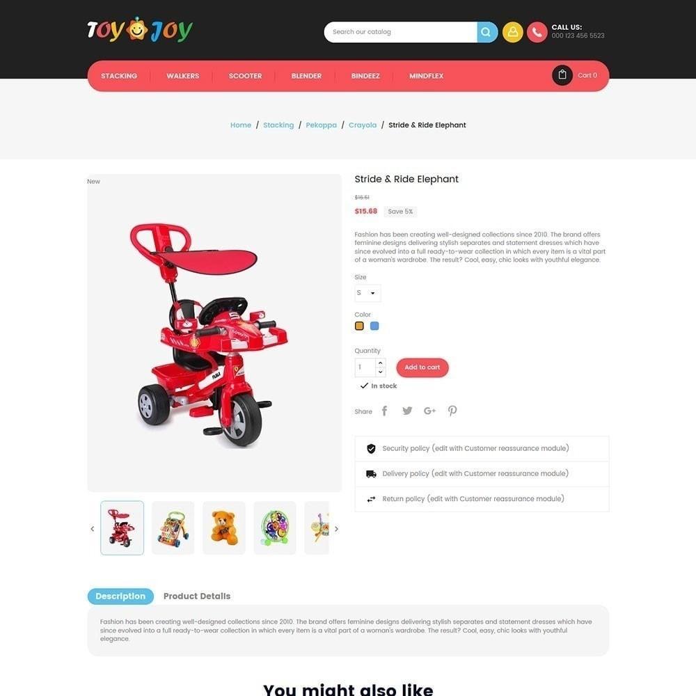 theme - Niños y Juguetes - Tienda de juguetes para niños Joy - 5