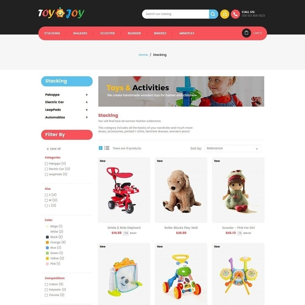 theme - Crianças & Brinquedos - Toy Joy Kids Store - 4