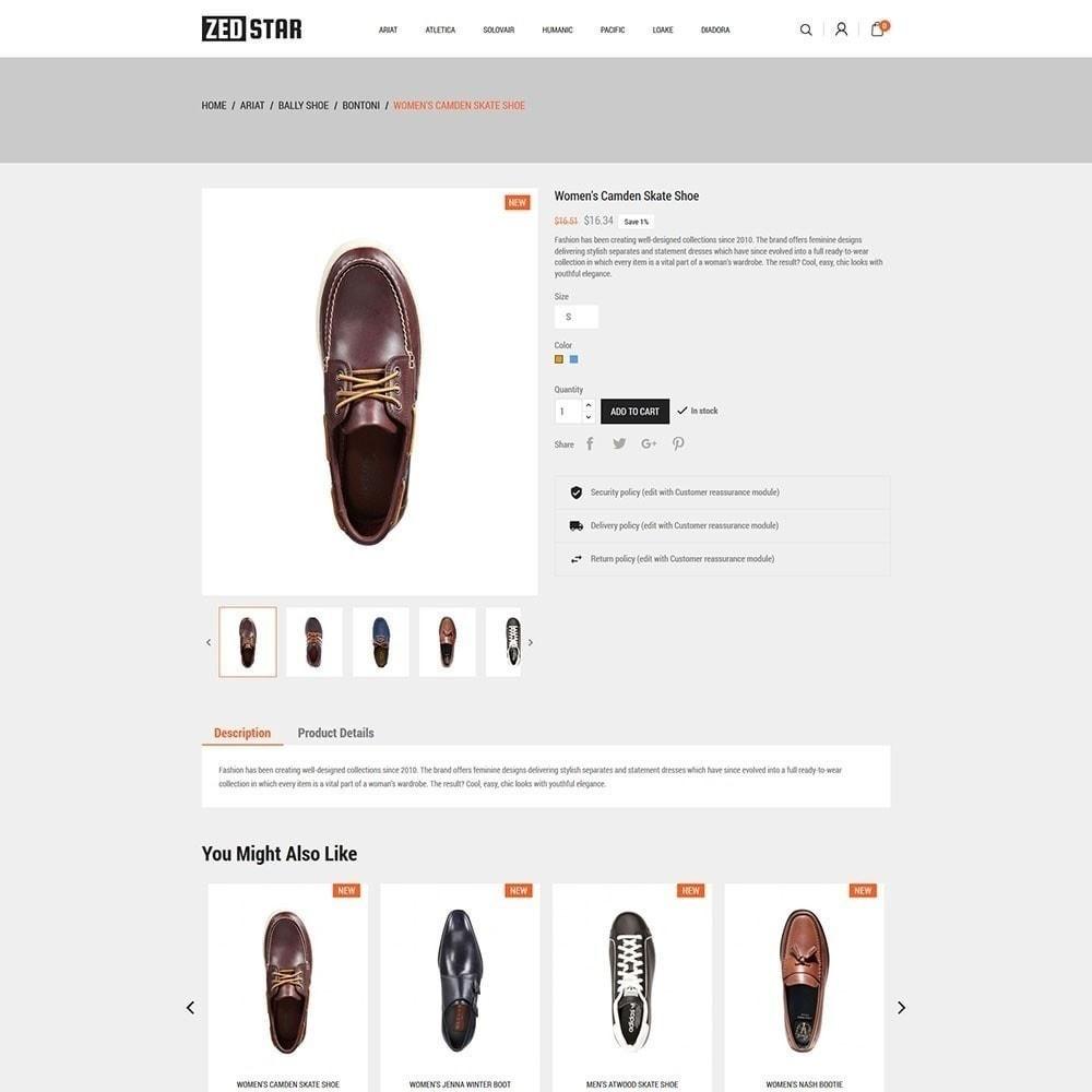 theme - Fashion & Shoes - Zed Star Fashion - 5