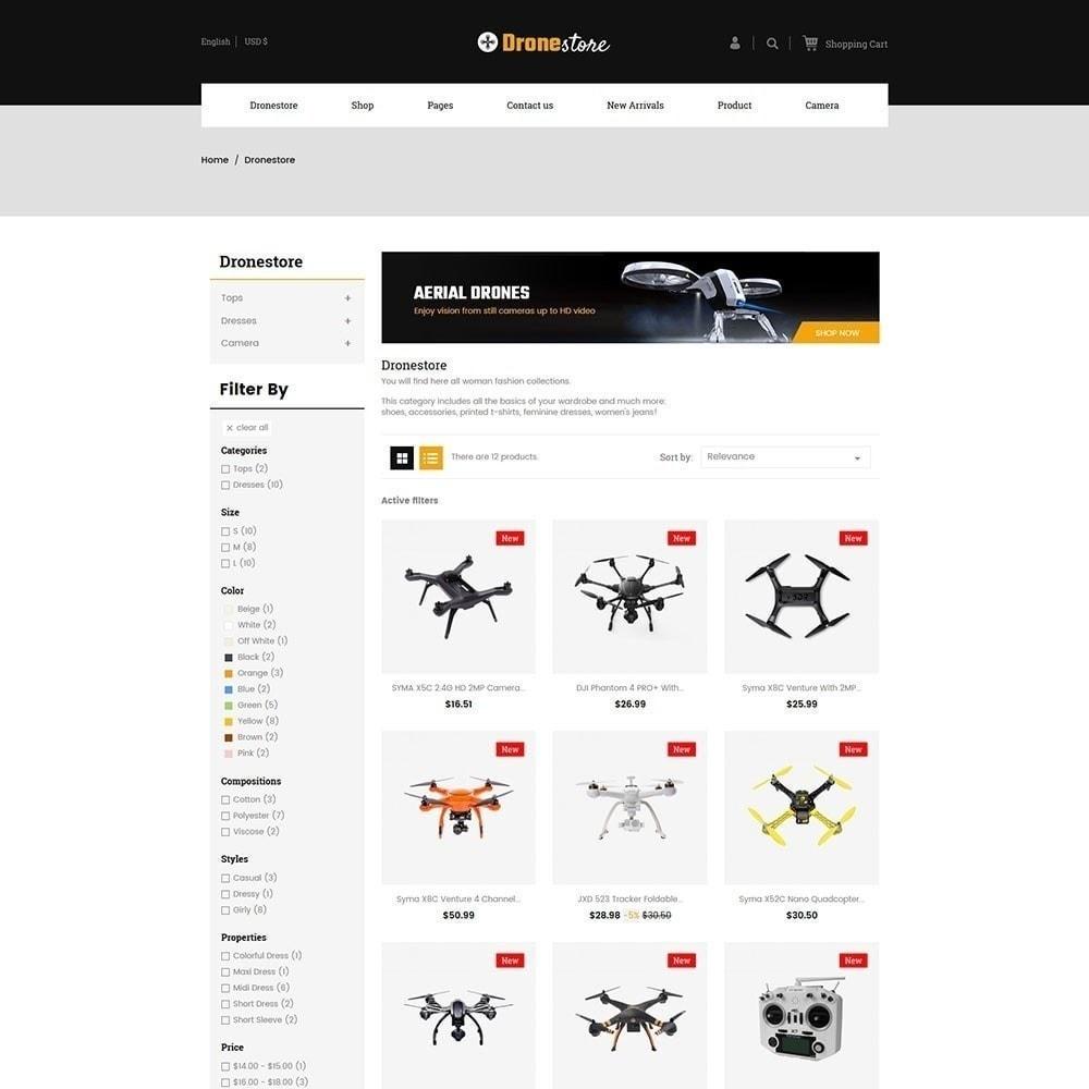 theme - Electrónica e High Tech - Drone - Tienda Digital - 2