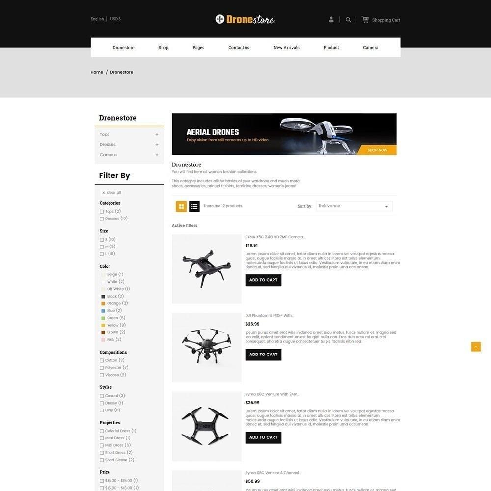 theme - Elektronica & High Tech - Drone - Digital Store - 4