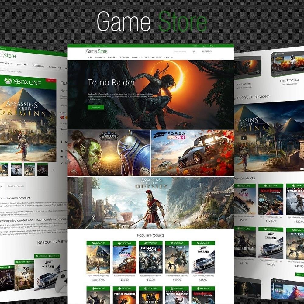 theme - Elettronica & High Tech - GameStore - 1